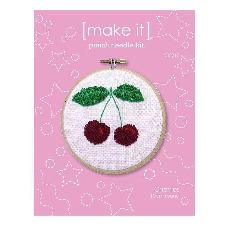 Make It Cherry Punch Needle Kit