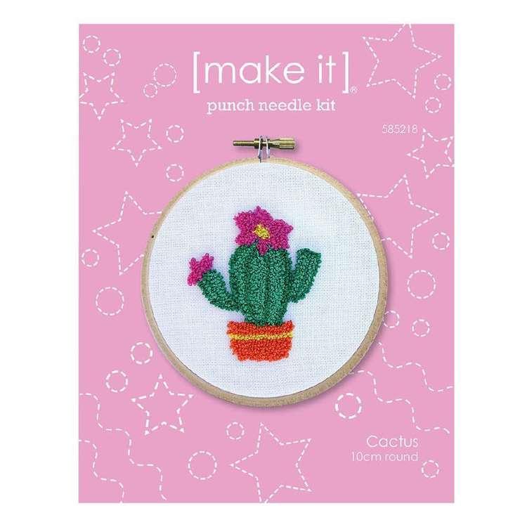 Make It Cactus Punch Needle Kit