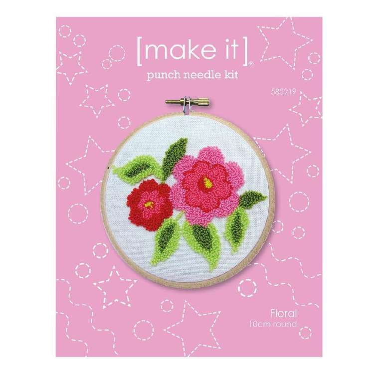 Make It Floral Punch Needle Kit