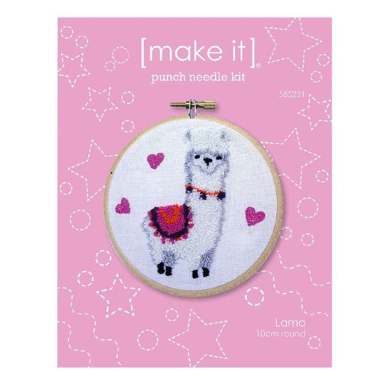 Make It Llama Punch Needle Kit