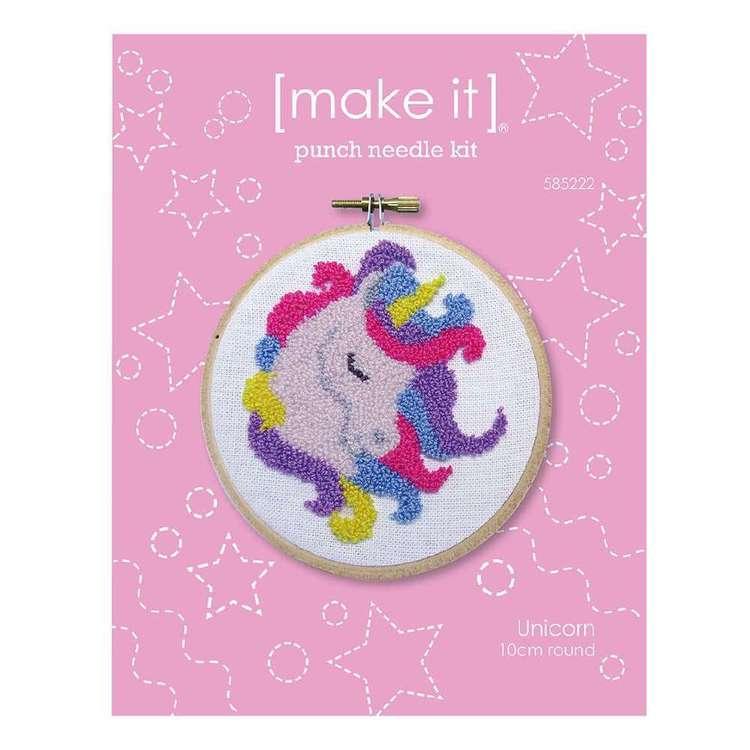 Make It Unicorn Punch Needle Kit