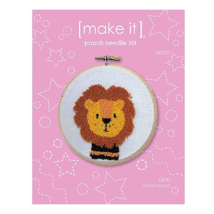Make It Lion Punch Needle Kit