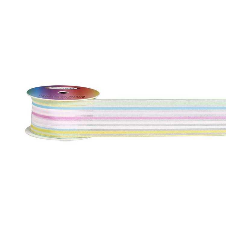 Semco Kids Rainbow Organza Ribbon