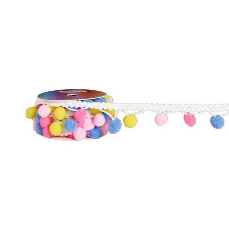 Semco Kids Rainbow Pom Pom Roll
