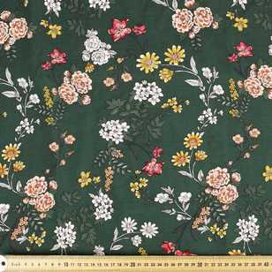 Big Country Floral Printed Rayon Fabric