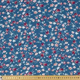 Pretty Blossoms Printed Rayon Fabric
