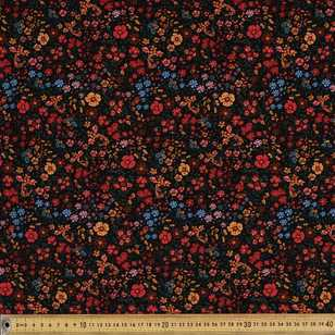 Meadow Printed 112 cm Pinwale Cord Fabric