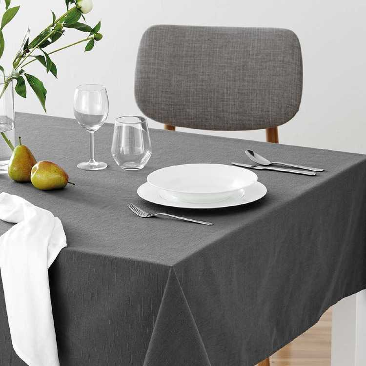 Dine By Ladelle Emerson Tablecloth Grey