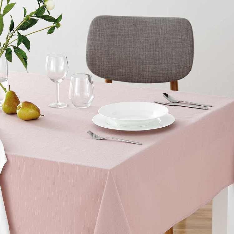 Dine By Ladelle Emerson Pink Table Cloth