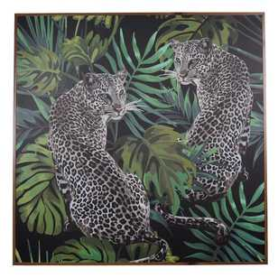 Cooper & Co Exotic Greenhouse Cheetahs Framed Art