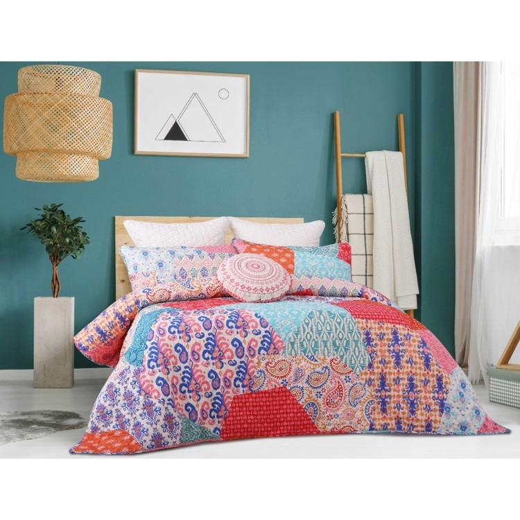 Belmondo Provincial Sloane Quilt Cover Set Multicoloured