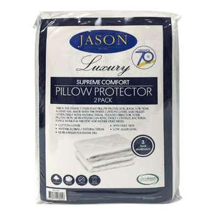 Jason Supreme Comfort Pillow Protector 2 Pack