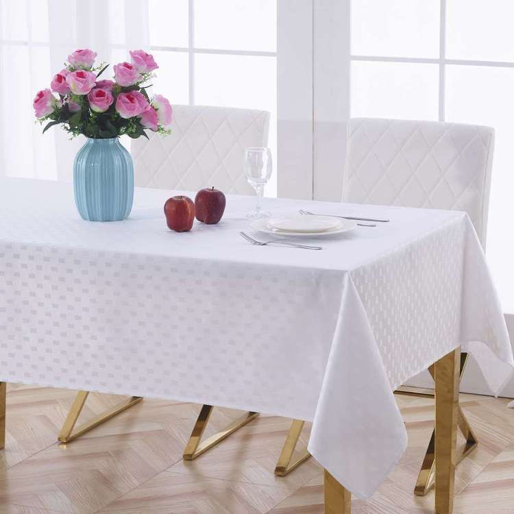 Living Space Hunter Jacquard Tablecloth