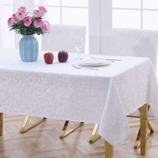 Living Space Clara Jacquard Tablecloth