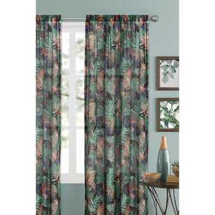 Caprice Amazonian Rod Pocket Sheer Curtain