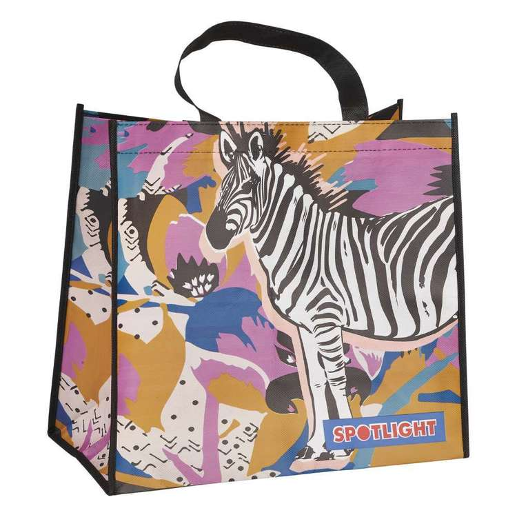 Spotlight Zebra Bag Multicoloured Small