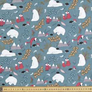 Woodside Printed 112 cm Pinwale Fabric