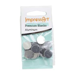 ImpressArt Premium Blank Stamping Circle With Hole