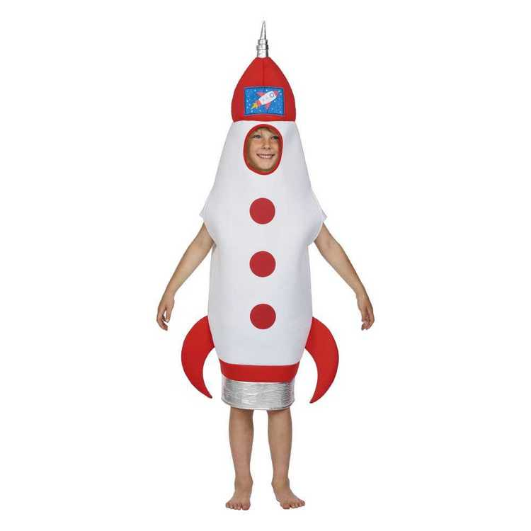 Spartys Rocket Costume White