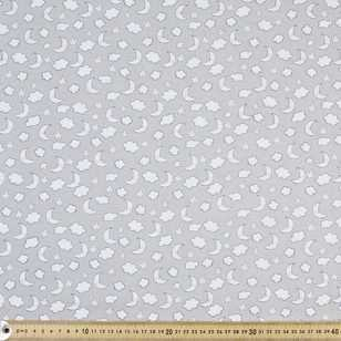 Night Time Printed Flannelette Fabric