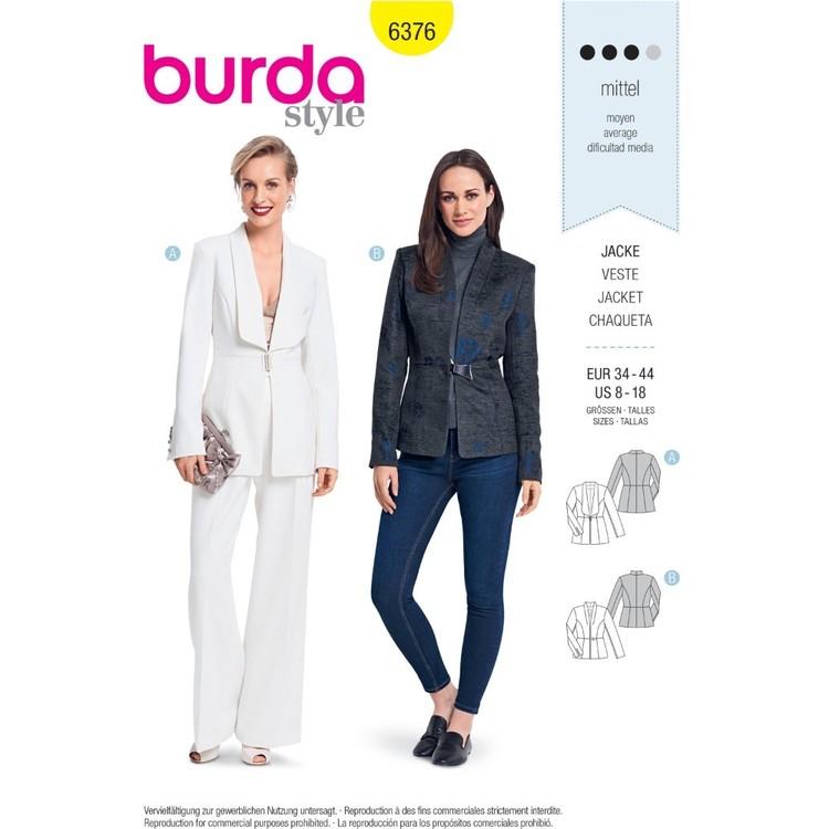 Burda Pattern B6376 Misses' Blazers