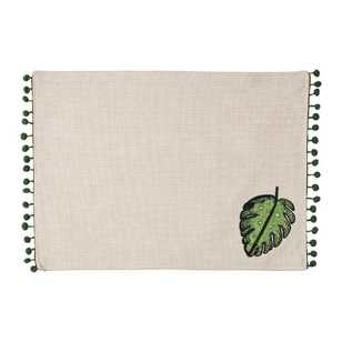 Living Space Leaf Applique Placemat