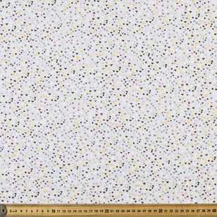 Hearts Printed 112 cm Buzoku Cotton Duck Fabric