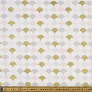Scales Printed 112 cm Buzoku Cotton Duck Fabric