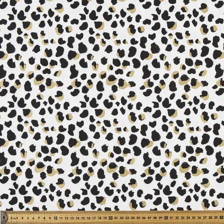 Animal Printed 112 cm Buzoku Cotton Duck Fabric