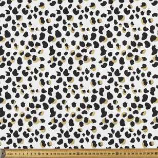 Animal Printed 112 cm Buzoku Cotton Duck Fabric