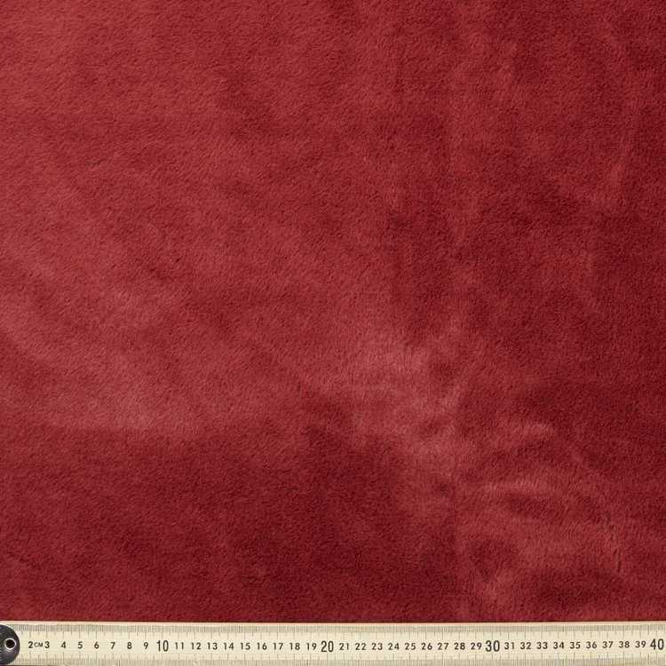 Plain Exotic Plush Fur Fabric