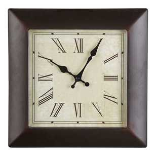 Living Space Square Vintage Clock