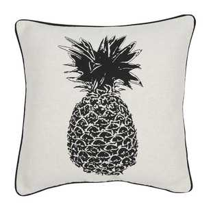 KOO Home Pine Pineapple Jacquard Cushion
