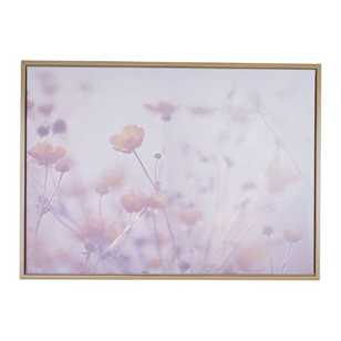 Ombre Home Winter Luxe Field Canvas Print