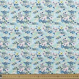 Floral #4 Printed 148 cm Cotton Spandex Fabric