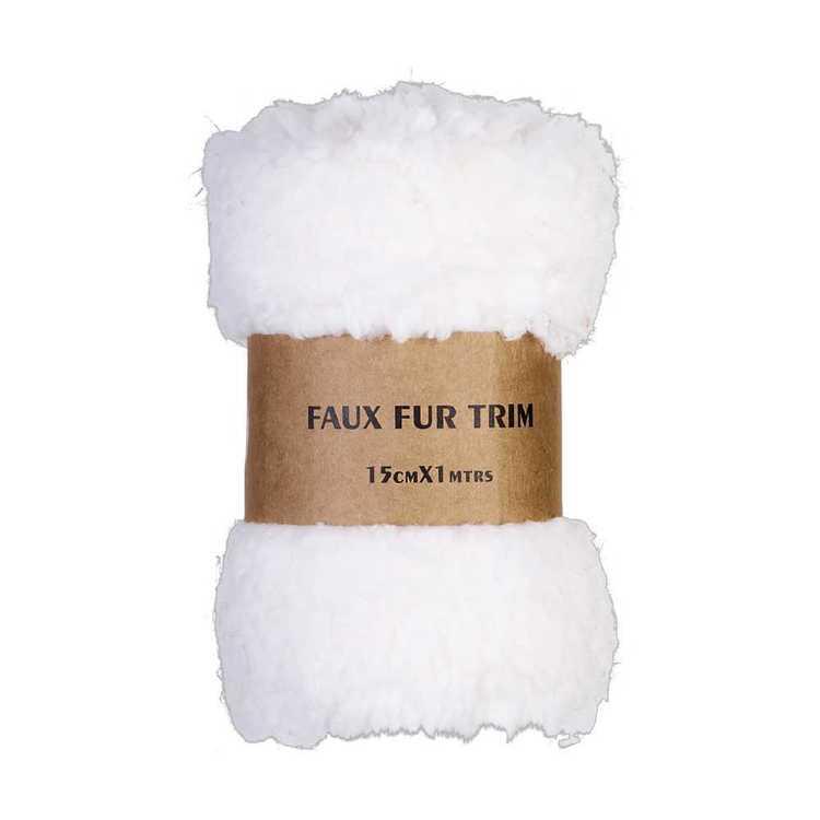 Faux Teddy Fur Trim