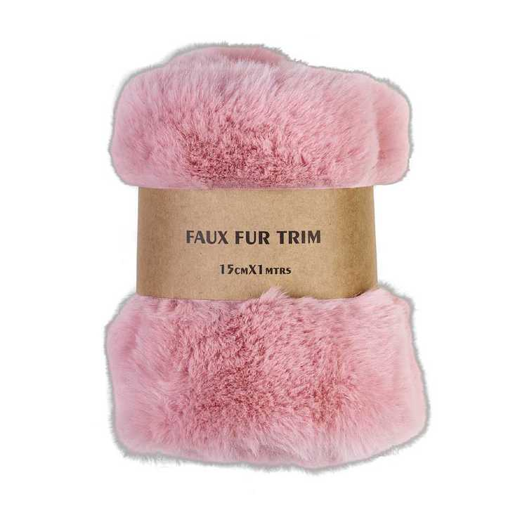Faux Fur Trim Roll