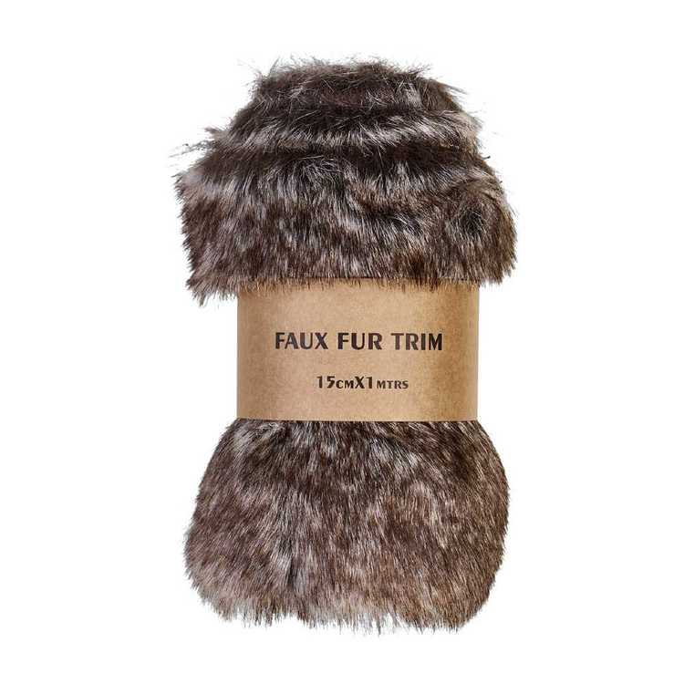 Animal Faux Fur Trim Roll