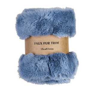 Brights Faux Fur Trim Roll