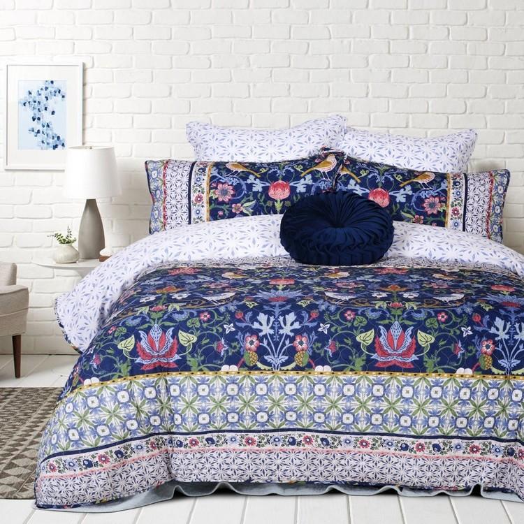 Belmondo Provincial Azalea Quilt Cover Set