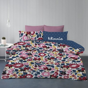 Minnie Mouse Garden Quilt Cover Set