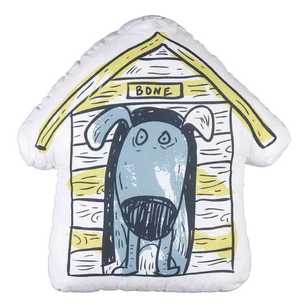 Kids House Dogs World Kennel Cushion