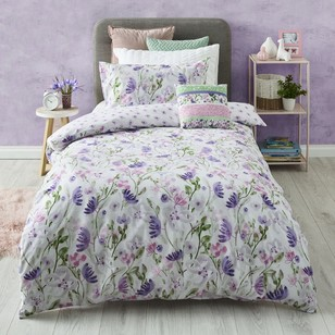 Kids House Pretty Floral Quilt Cover Set