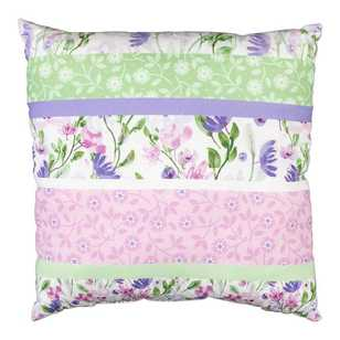 Kids House Pretty Floral Swan Cushion