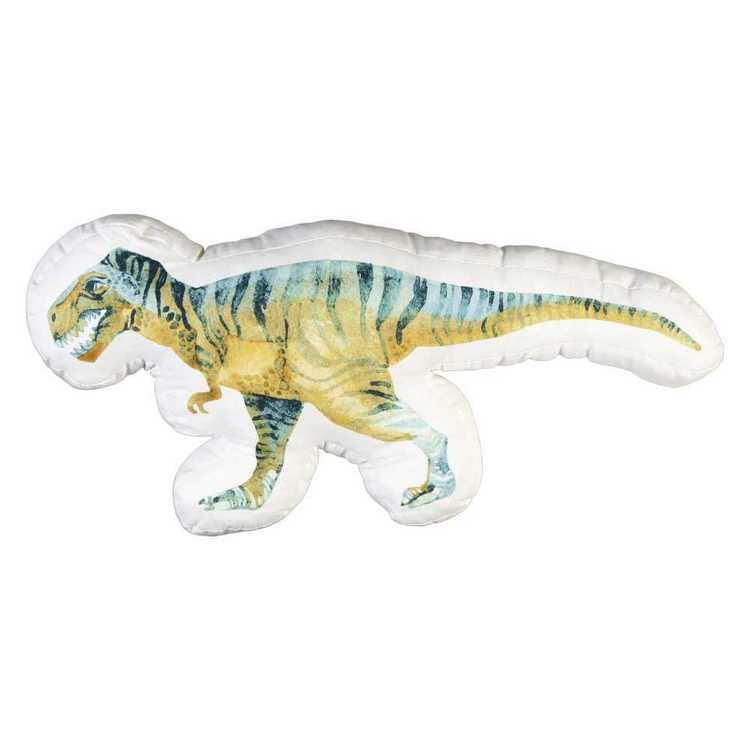 Kids House Dino Jungle T-Rex Cushion