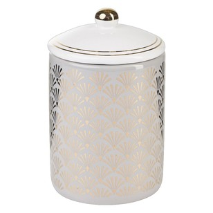 Ombre Home Winter Luxe Canister 1