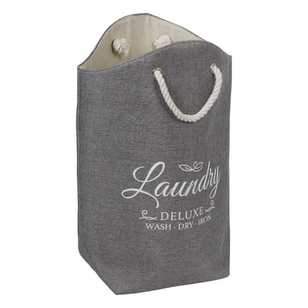 Urban Lines Laundry Rope Handle Hamper