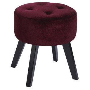 Ombre Home Winter Luxe Stool