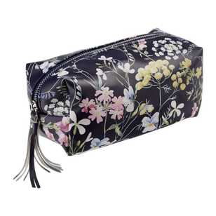 Ombre Home Winter Luxe Floral Makeup Bag