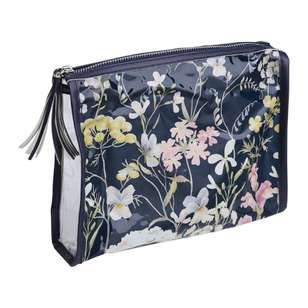 Ombre Home Winter Luxe Floral Toiletry Bag
